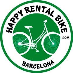 Happy rental bike Barcelona