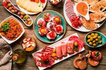 Spanish tapas class with 5% off